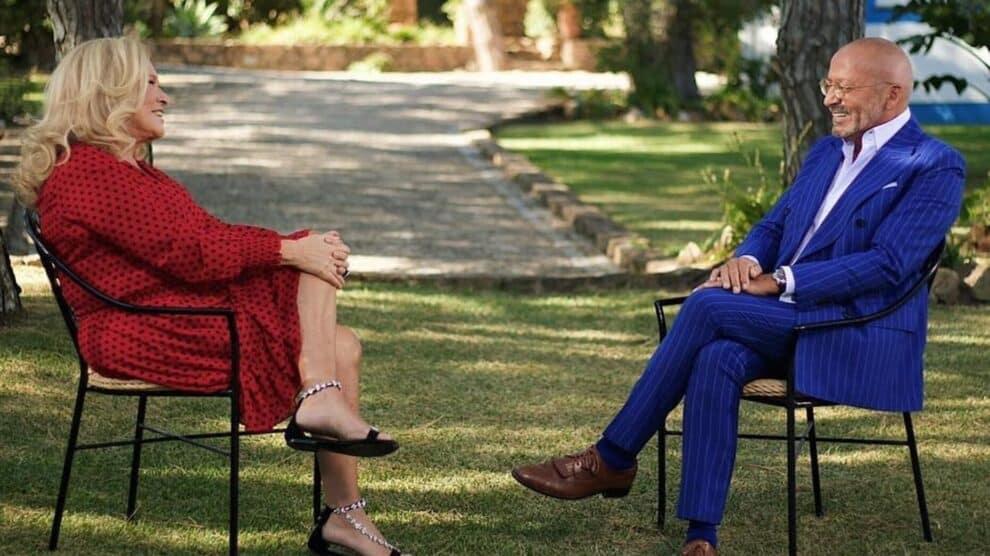 Goucha e Teresa Guilherme