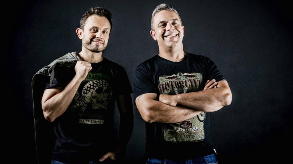 Joao Paulo Rodrigues e Pedro Alves