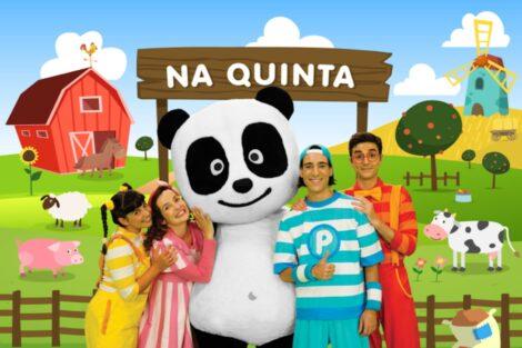 Panda E Os Caricas Na Quinta