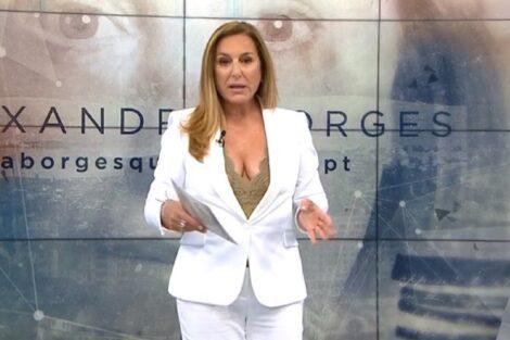 Alexandra Borges, Tvi