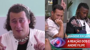 andre filipe reacao concorrentes big brother expulsao