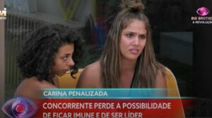 carina sancionada big brother