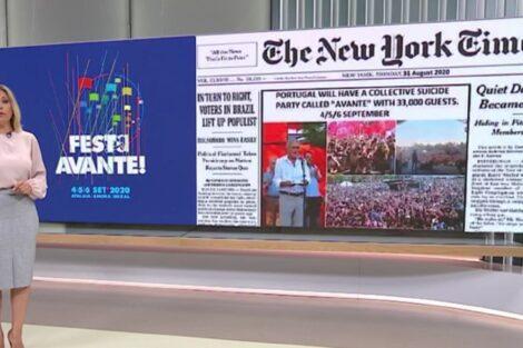 clara de sousa the new york times jornal da noite