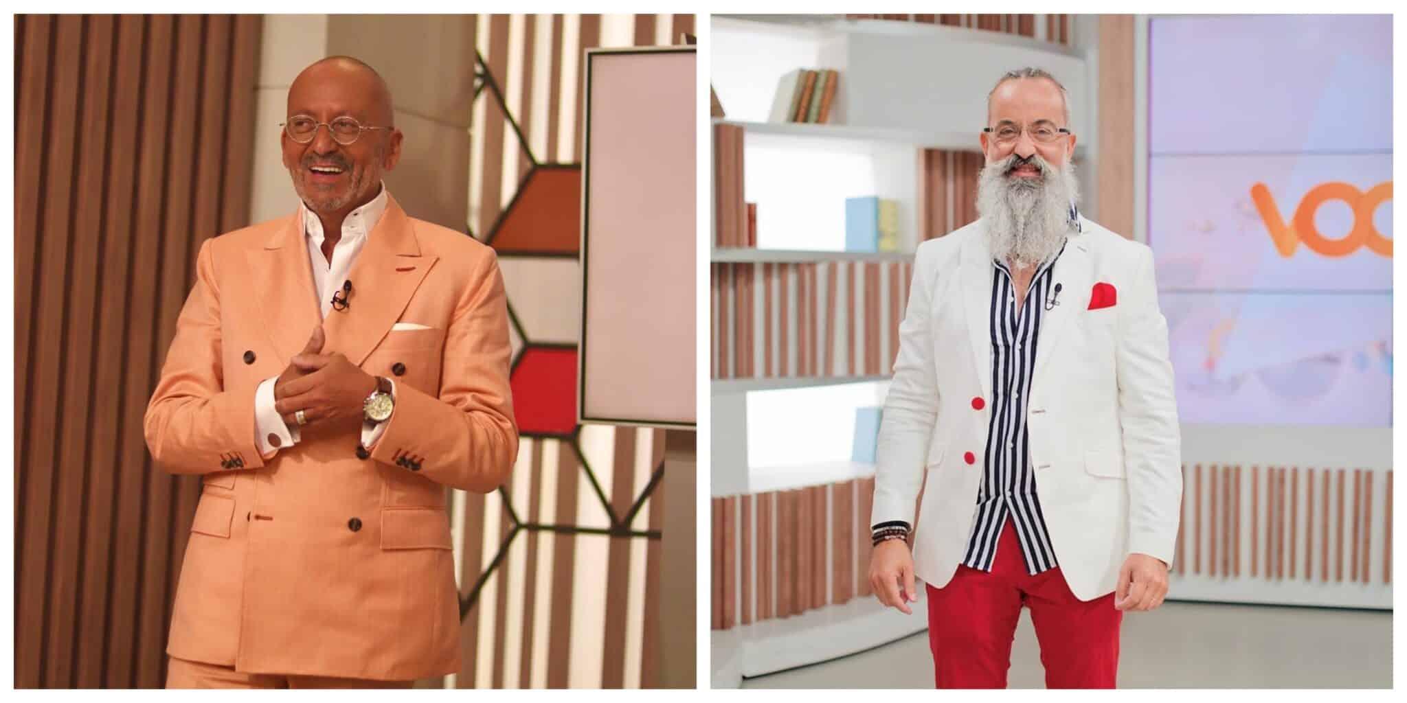 Goucha e Pedro Fernandes