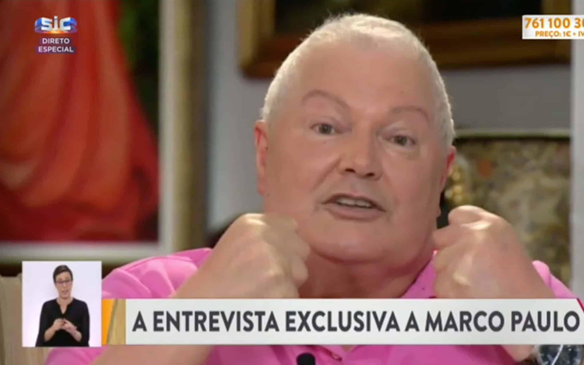 marco paulo entrevista sic
