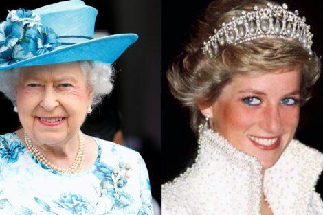 Rainha Isabel Princesa Diana
