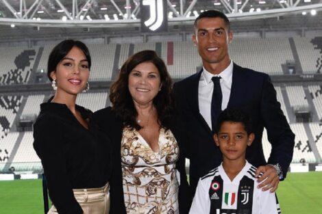 Ronaldo, Dolores Aveiro, Georgina, Cristianinho