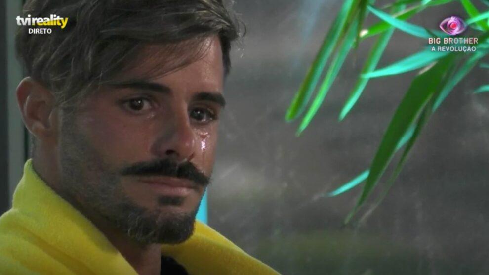 rui Pedro chora big brother