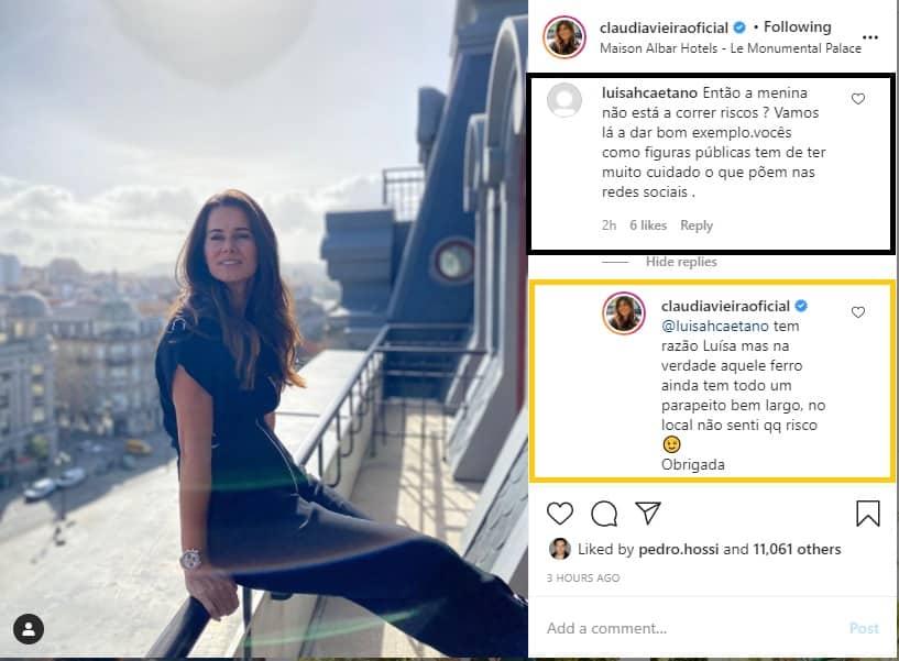Claudia Vieira Comentarios