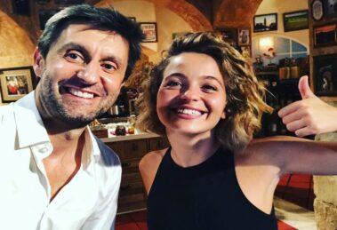 Daniel Oliveira e Bruna Quintas