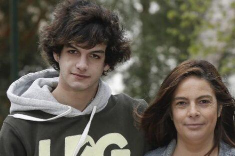 Diogo Carmona, Mãe Patrícia Carmona