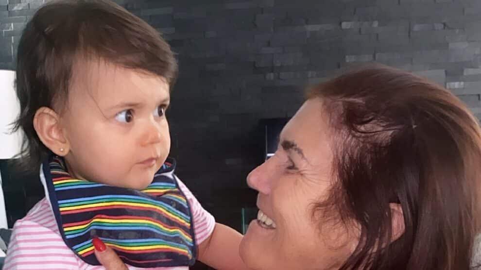 Dolores Aveiro neta