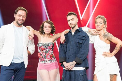 António Zambujo, Marisa Liz, Diogo Piçarra, Aurea, The Voice Portugal, RTP1