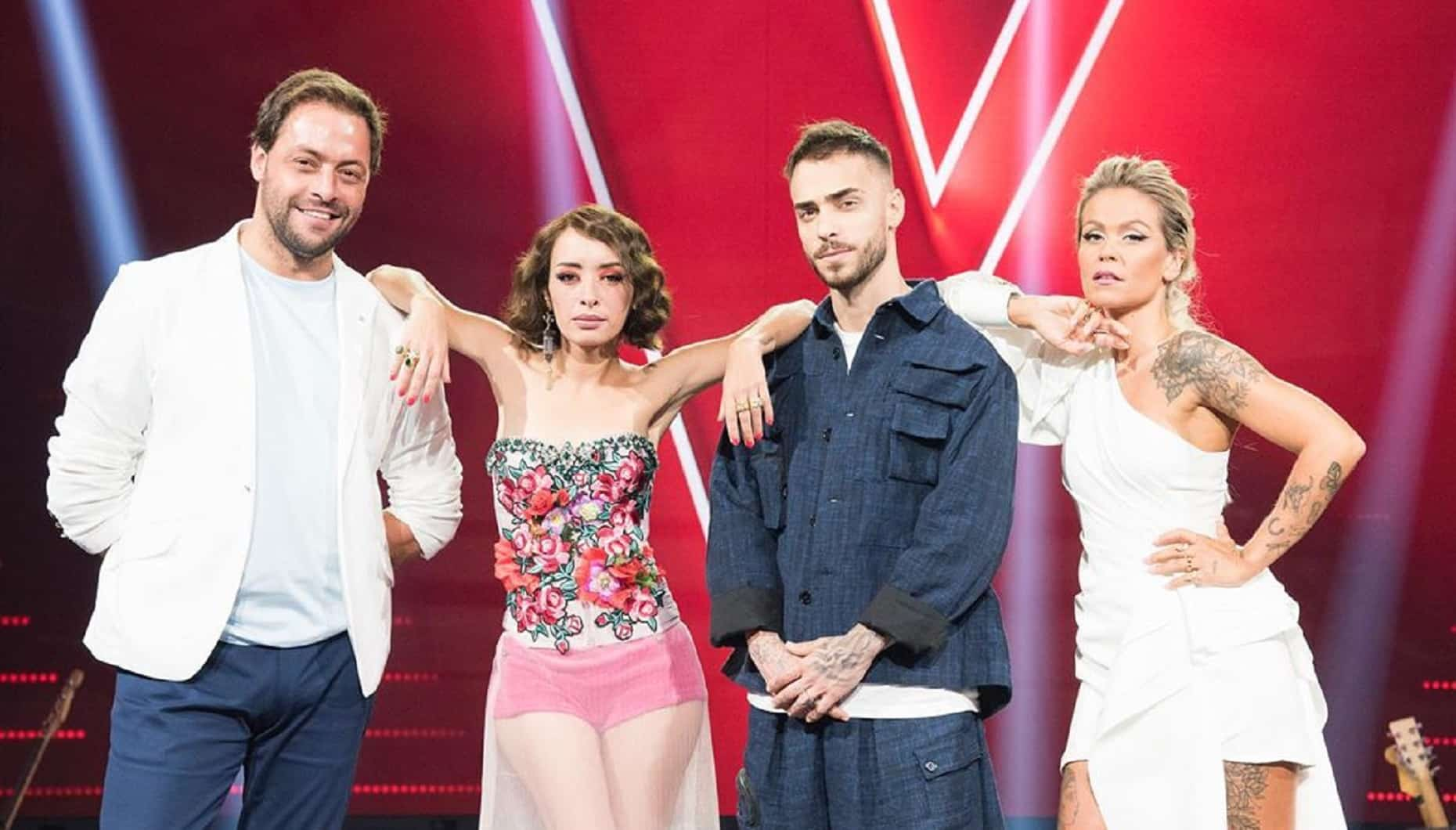 The Voice Portugal António Zambujo, Marisa Liz, Diogo Piçarra, Aurea, The Voice Portugal, Rtp1