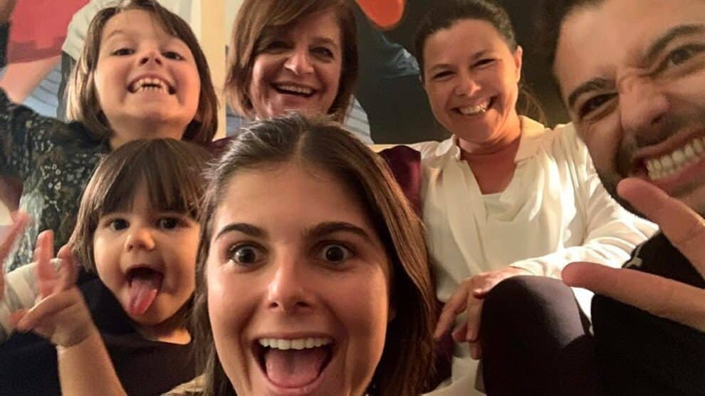 Júlia Pinheiro, Família, Rui Maria Pêgo
