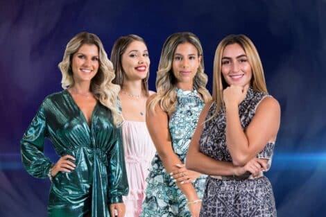 nomeadas big brother Carina Jéssica Antunes Joana Zena