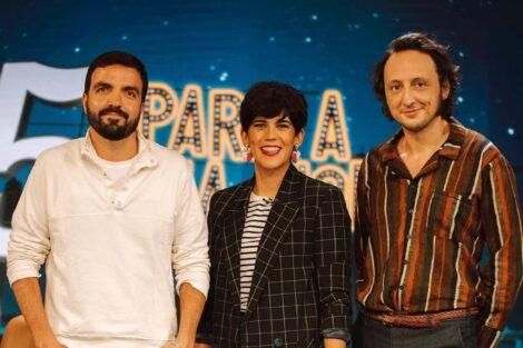 Samuel Úria, Salvador Martinha, Inês Lopes Gonçalves, RTP1, 5 Para a Meia-Noite