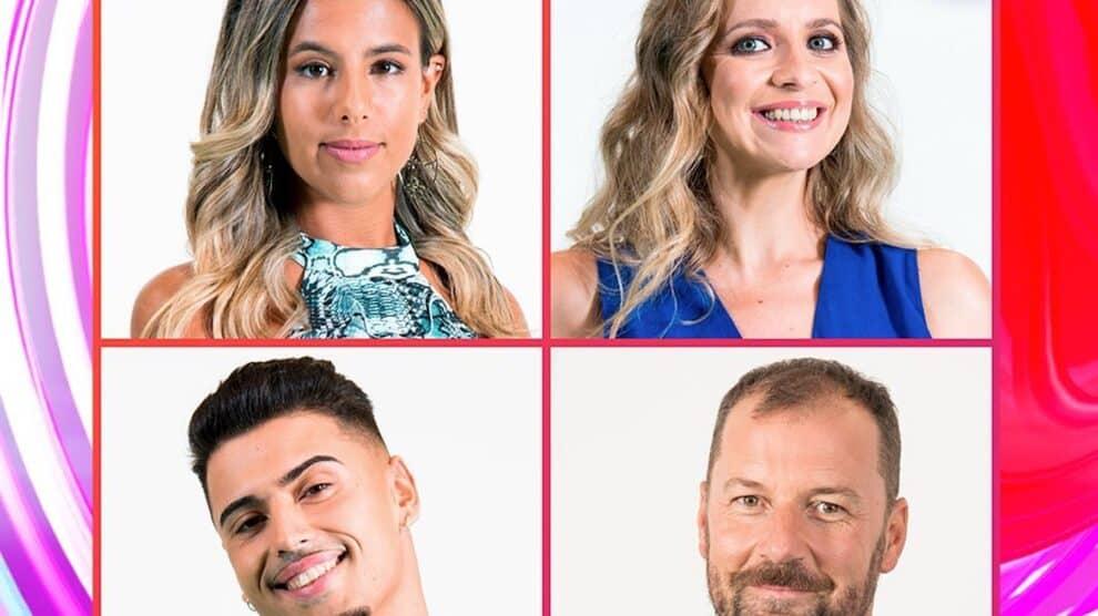 4 Nomeados Big Brother