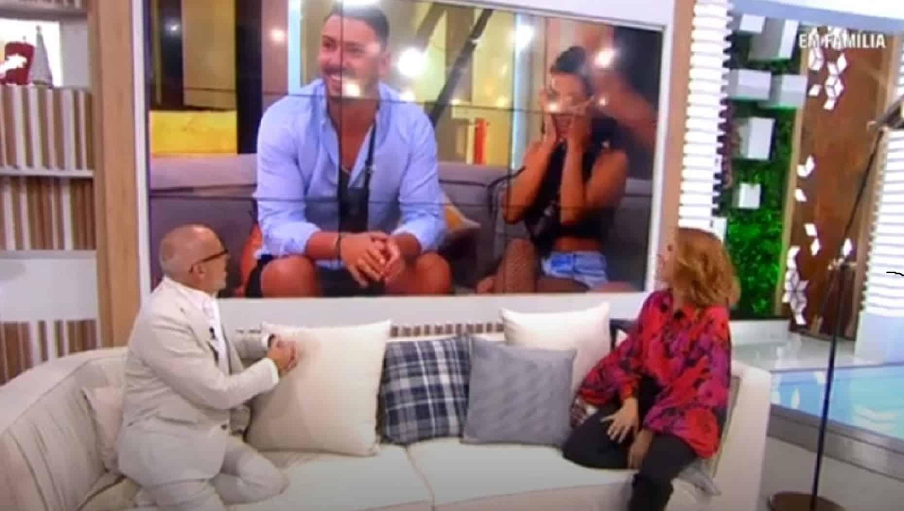 Goucha Cristina Ferreira Big Brother Em Família
