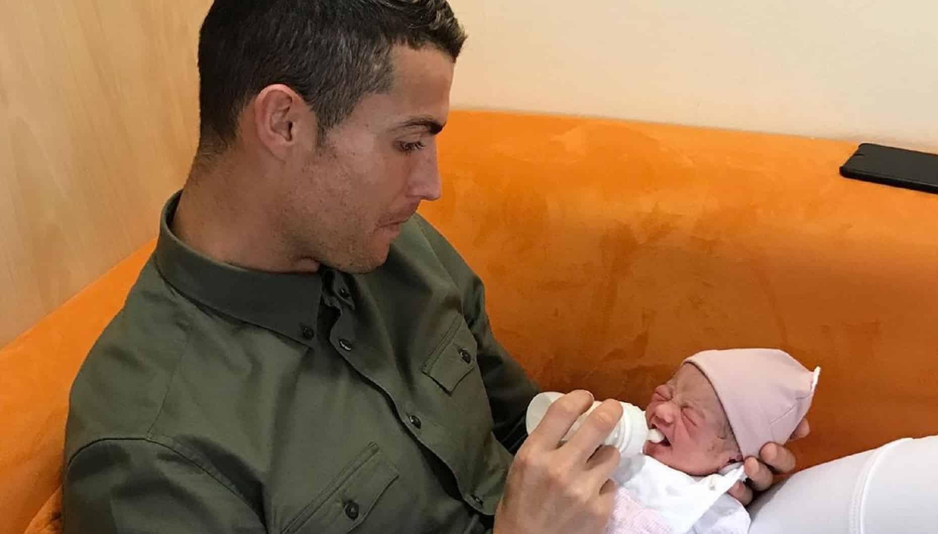 Cristiano Ronaldo, Filha Alana Martina