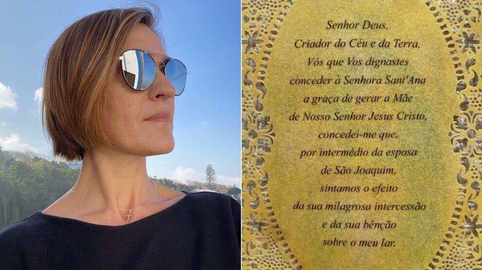 Fátima Lopes, Oração A Sant'Ana