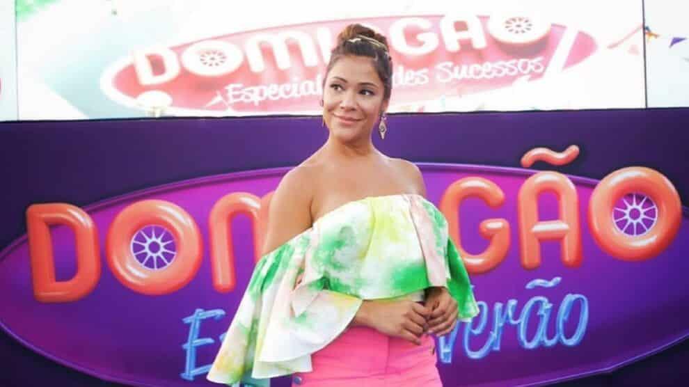 Raquel Tavares, Domingão