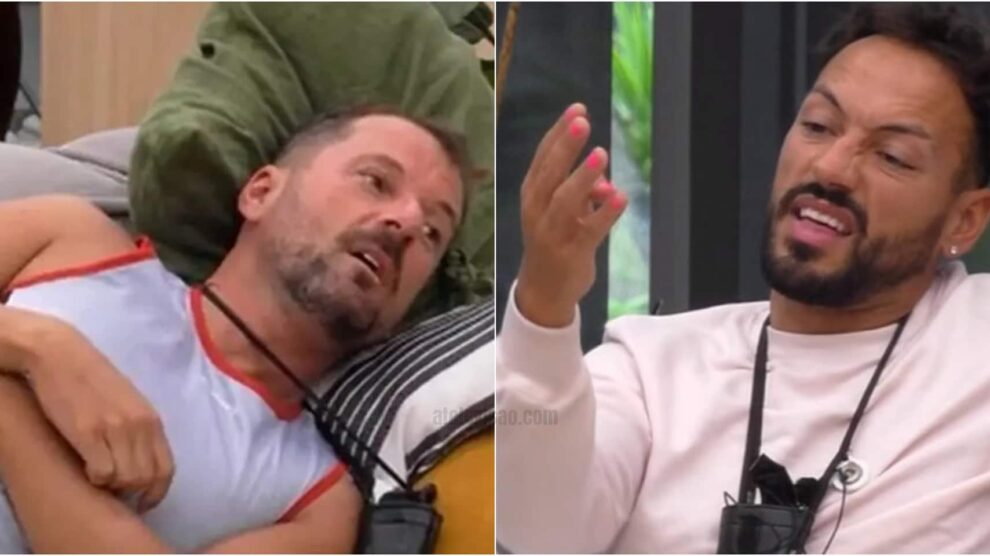 Big Brother Pedro Andre Abrantes Discutem Big Brother