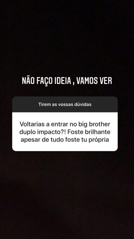 Carina Big Brother Duplo Impacto