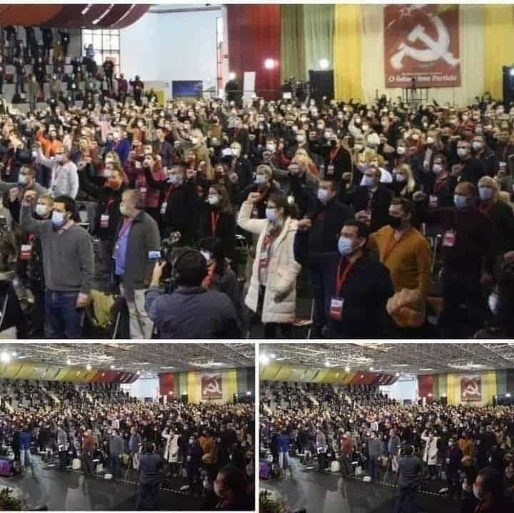 Congresso Do Partido Comunista Portugues Pandemia