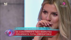 Jessica Antunes Lagrimas Big Brother
