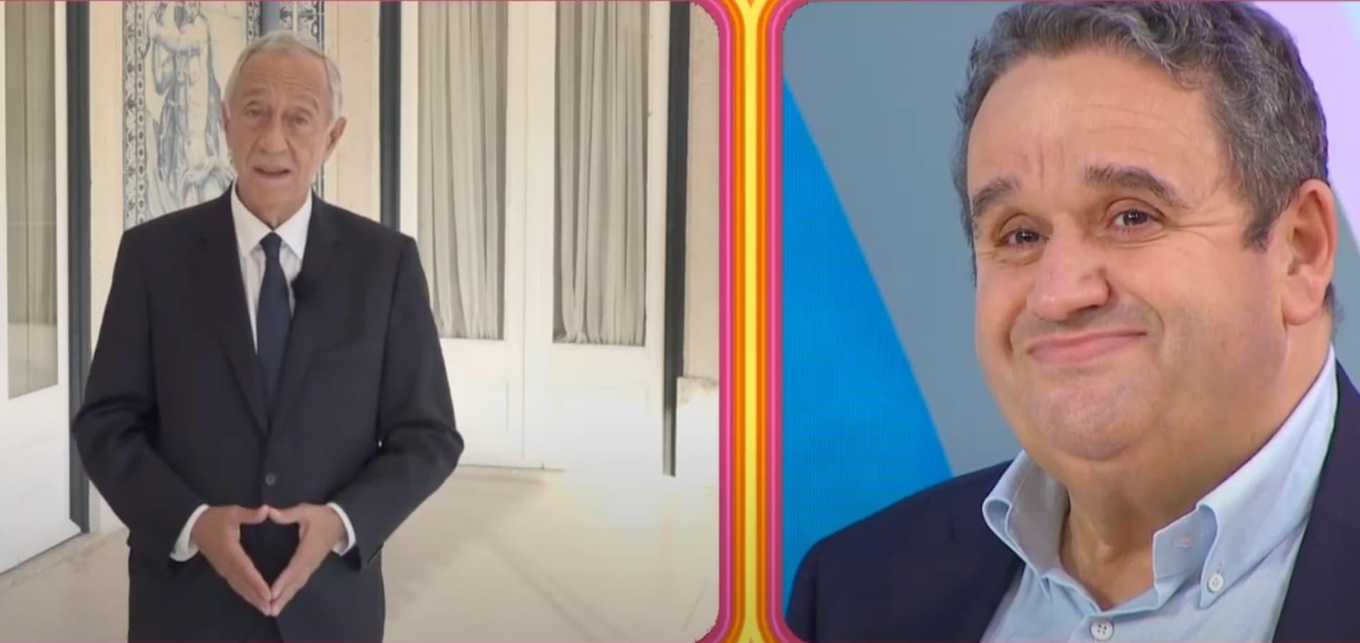 Marcelo Rebelo De Sousa Homenageia Fernando Mendes