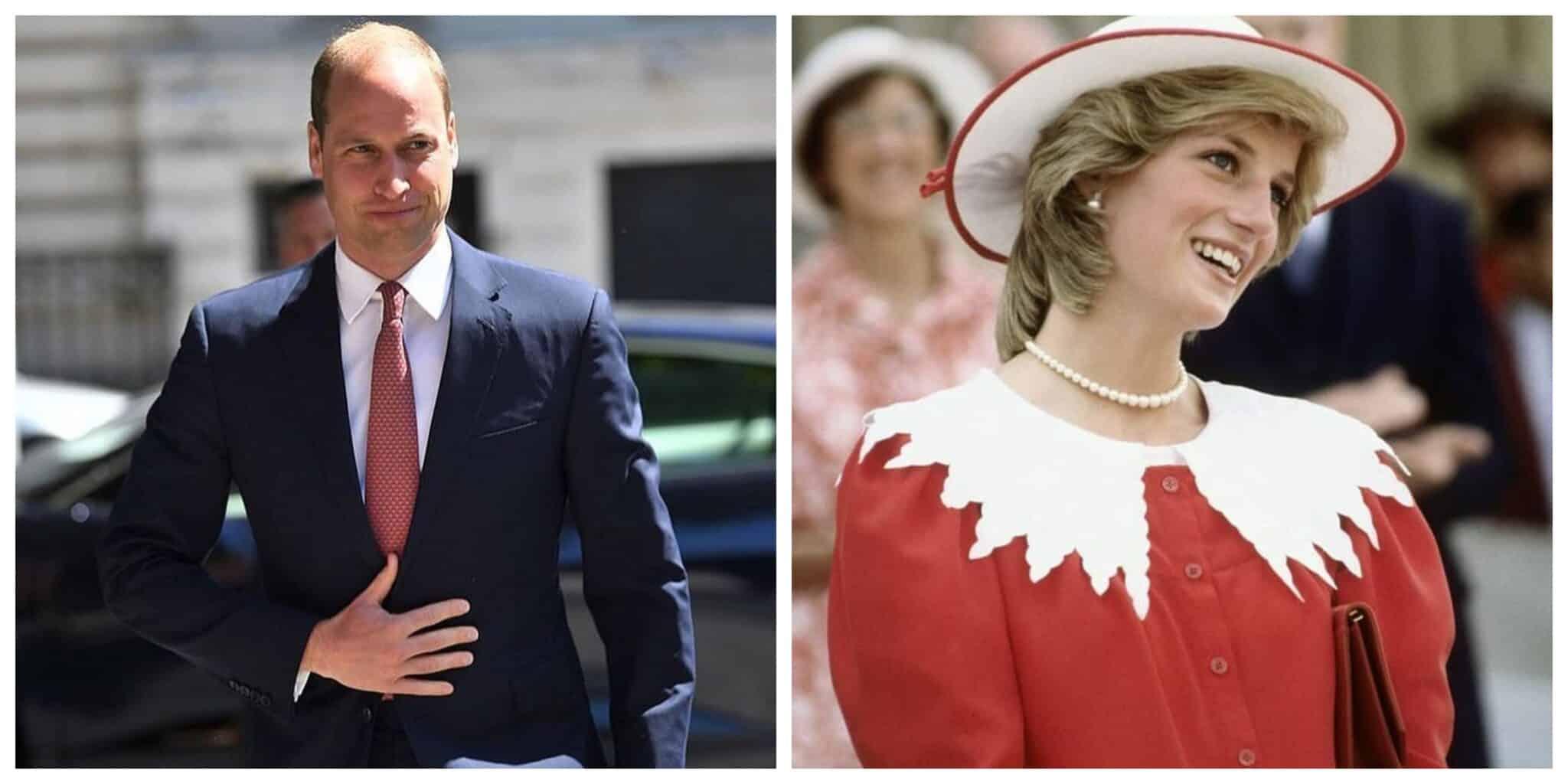 Principe Wiliam Princesa Diana
