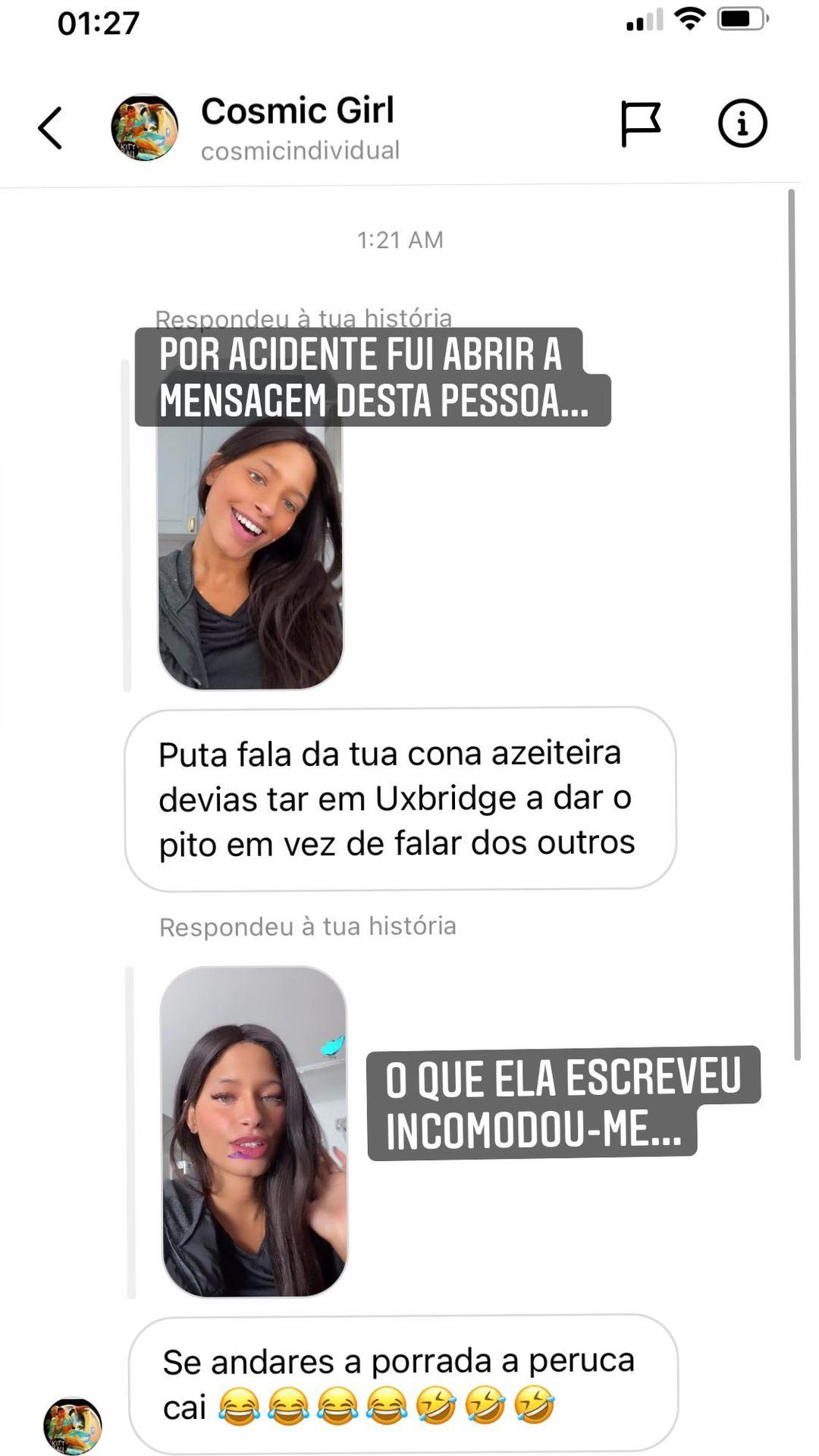 Soraia Big Brother Insultada