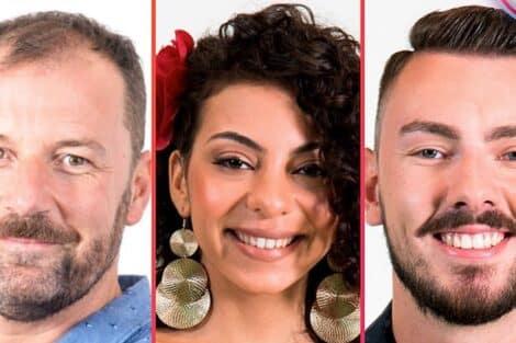3 Nomeados Big Brother, Jéssica Fernandes, Pedro, Renato