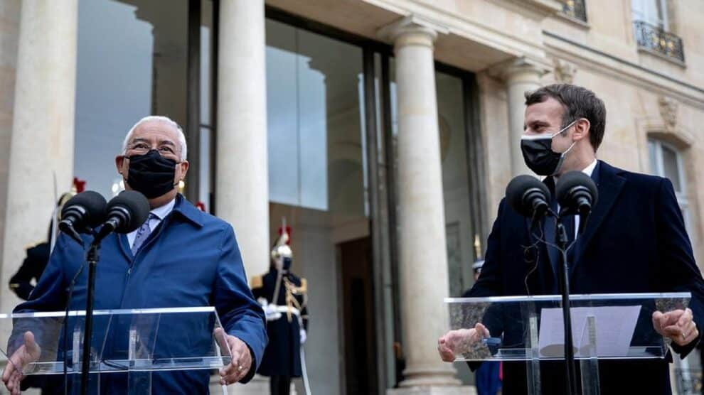 António Costa, Emmanuel Macron
