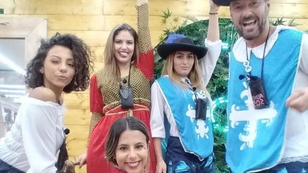 Carina, Jéssica, Joana, Pedro, Zena, Big Brother