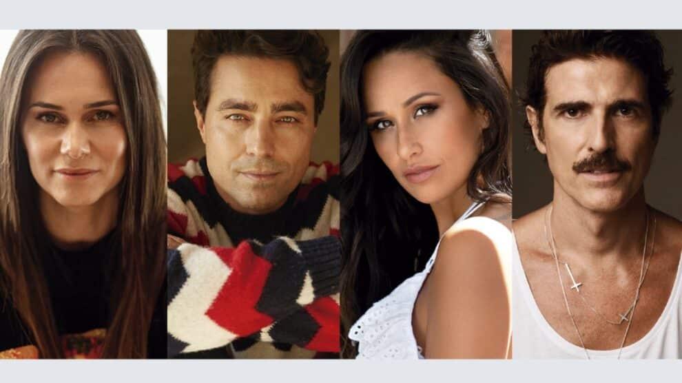 Cláudia Vieira, Ricardo Pereira, Rita Pereira E Reynaldo Gianecchini