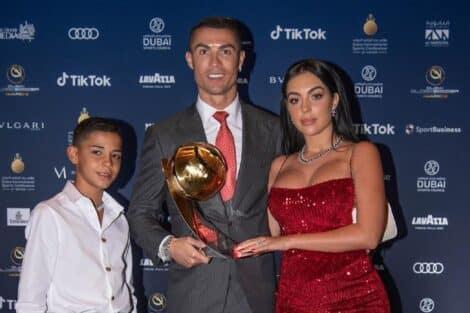 Cristiano Ronaldo, Georgina Rodríguez, Filho Cristianinho