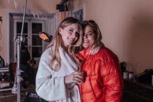 Sara Carreira E Mae Fernanda Antunes