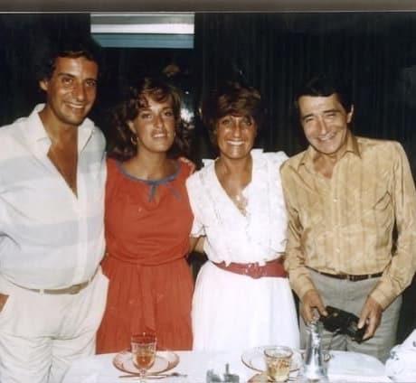 Teresa Guilherme Com A Mãe, Raul Durão E Tony De Matos