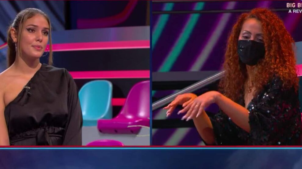 Carina Sandra Gala Big Brother Polemica Discussao