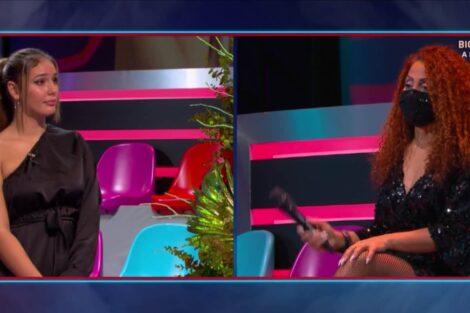 Carina Sandra Gala Big Brother Polemica Discussao 2