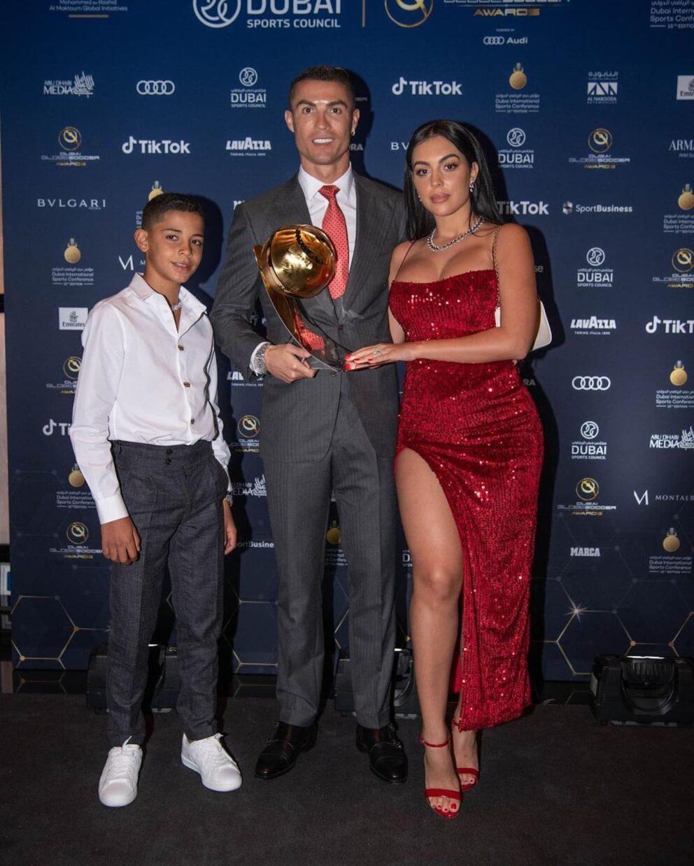Cristiano Ronaldo Filho Georgina Rodriguez Joias Milhares Euros