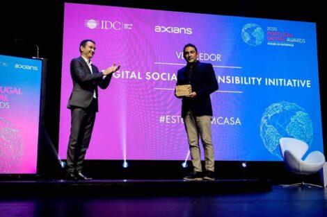 Estudo Em Casa Dinstinguido Premio Portugal Digital Awards 2020
