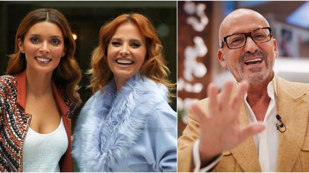 Maria Cerqueira Gomes Cristina Ferreira Manuel Luis Goucha