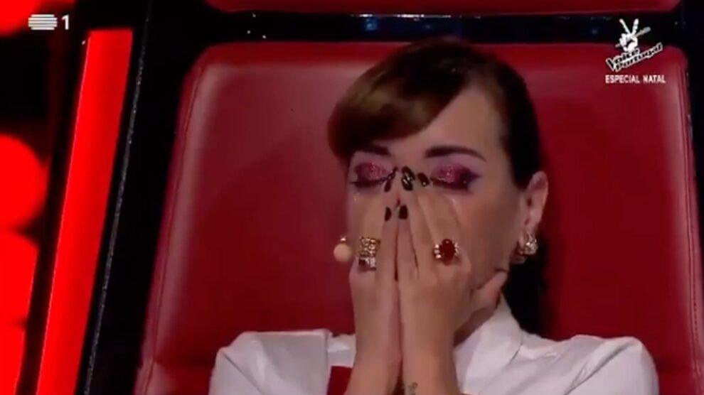Marisa Liz Emociona-Se The Voice Portugal