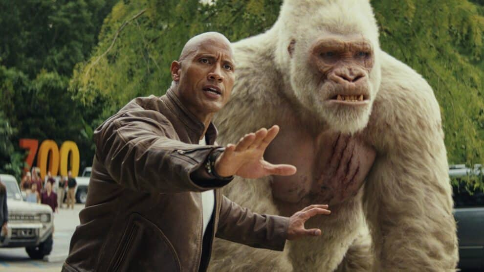 Rampage Fora De Controlo Canal Hollywood