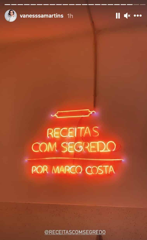 Vanessa Martins Apoia Marco Costa