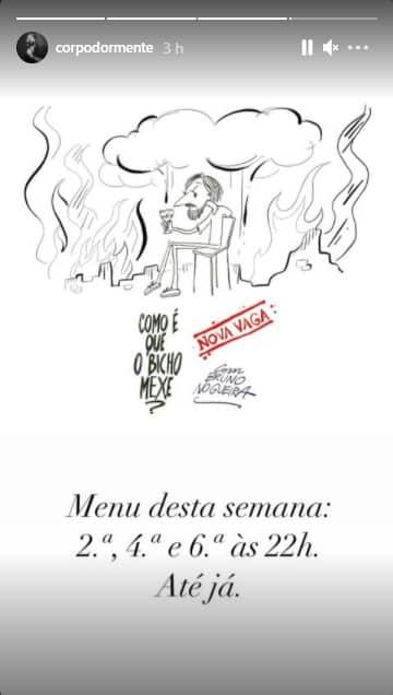 Bruno Nogueira, Como É Que O Bicho Mexe
