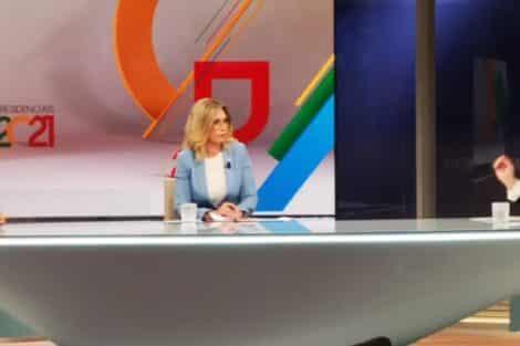 Clara De Sousa, Marcelo Rebelo De Sousa, André Ventura, Presidenciais